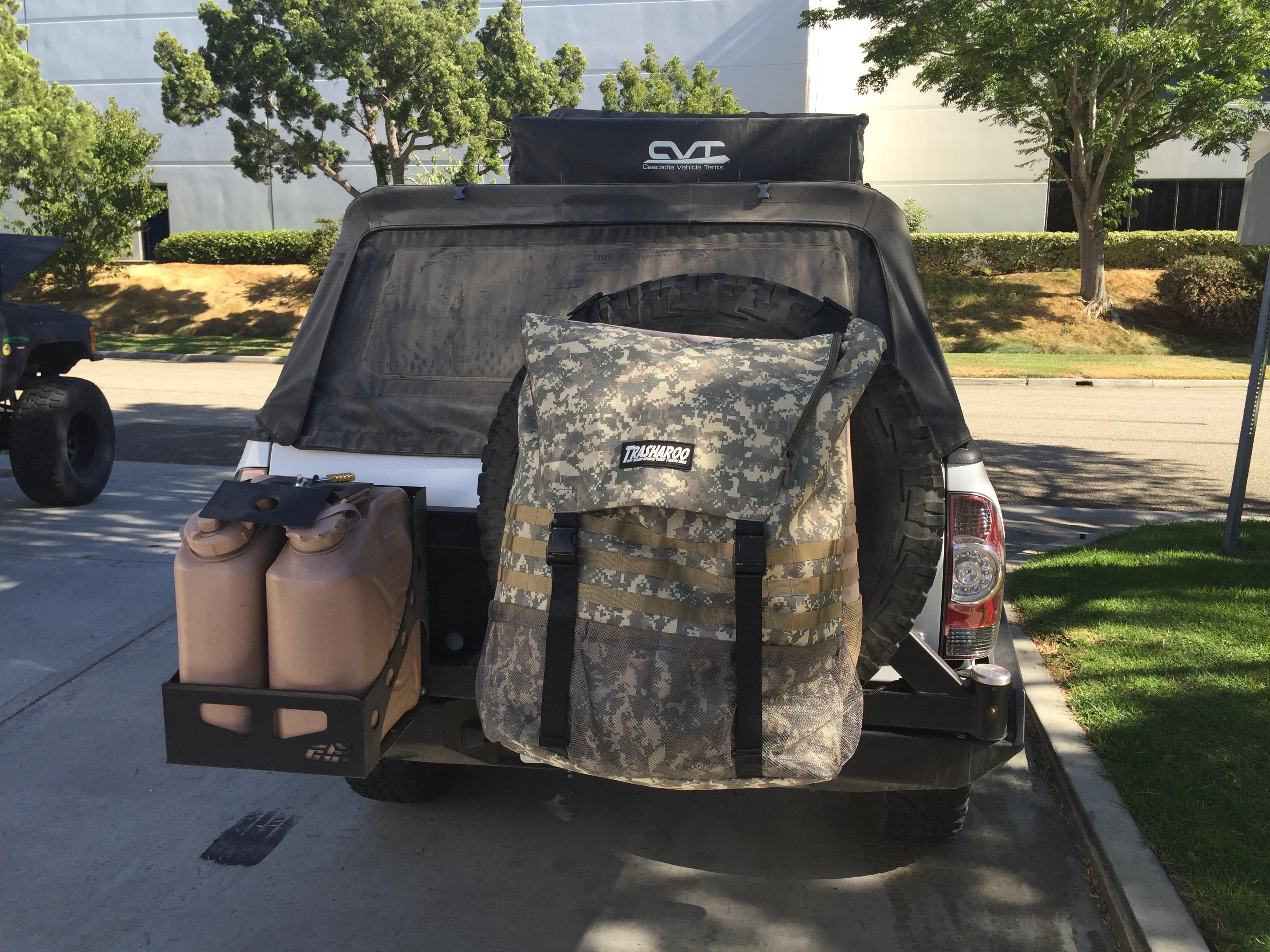Trash Trucks For Sale >> TRASHAROO Spare Tire Trash Bags - Yotamasters