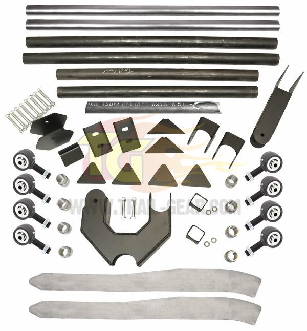 Tacoma 3-Link Rear Suspension Kit