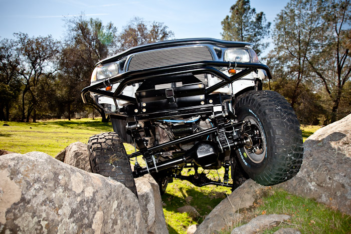 Tacoma Solid Axle Swap (SAS) Kit