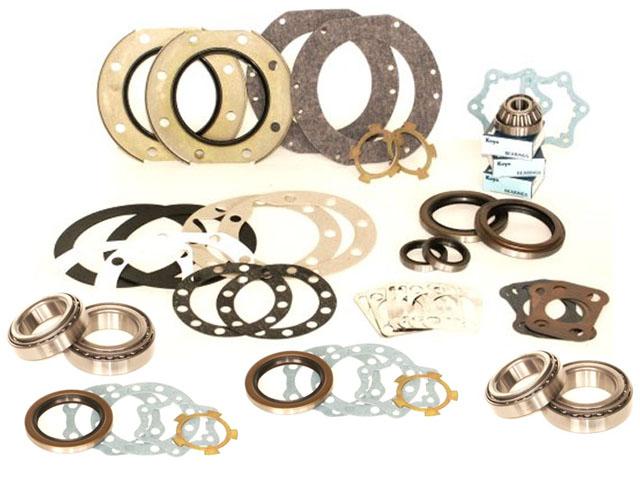 Marlin Crawler Knuckle Rebuild kit With Wheel Bearings