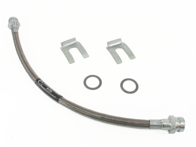 steel braided clutch line kit