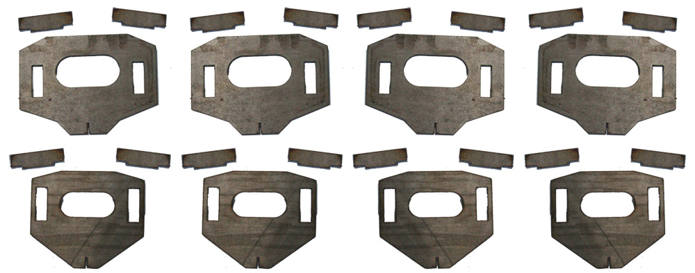 Total Chaos Lower Control Arm Cam Tab Gussets 96-04 Taco 96-02 4Runner