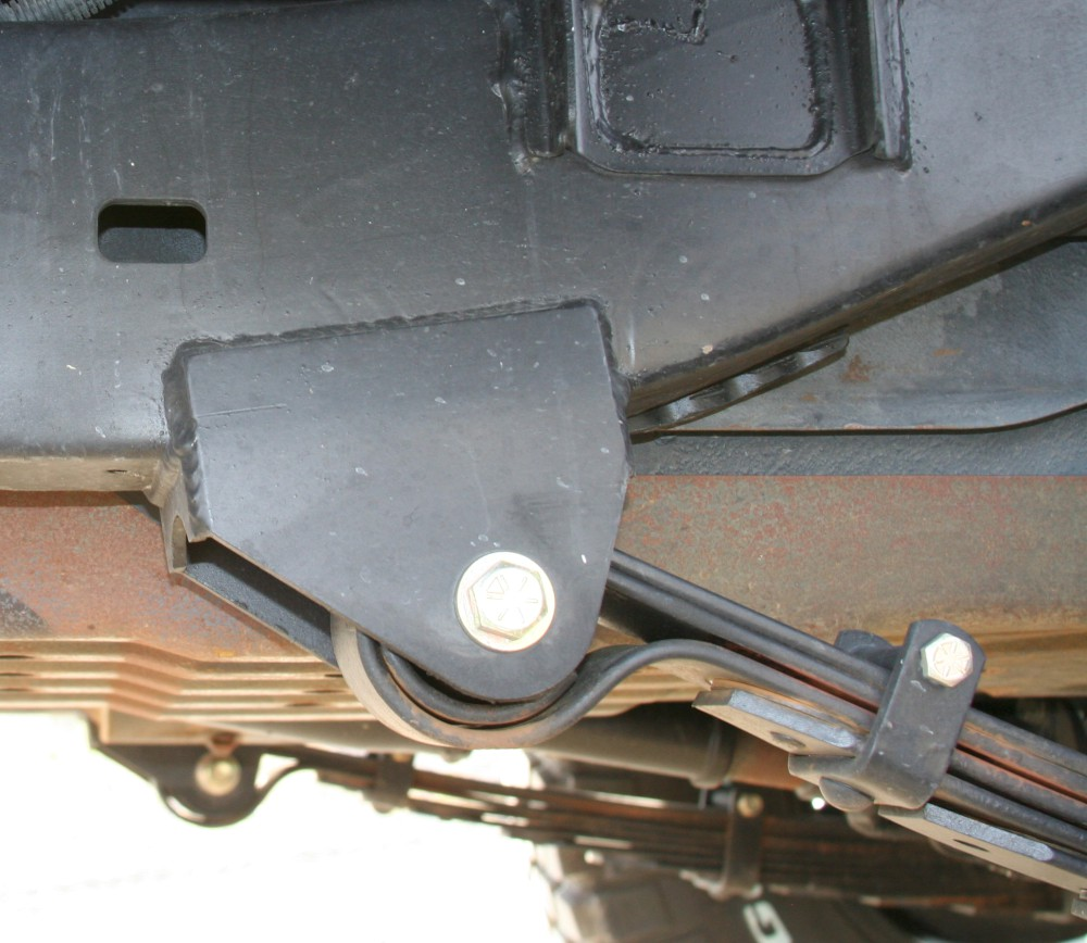 2003 Toyota Tacoma Leaf Springs: Total Chaos Leaf Spring Hangers