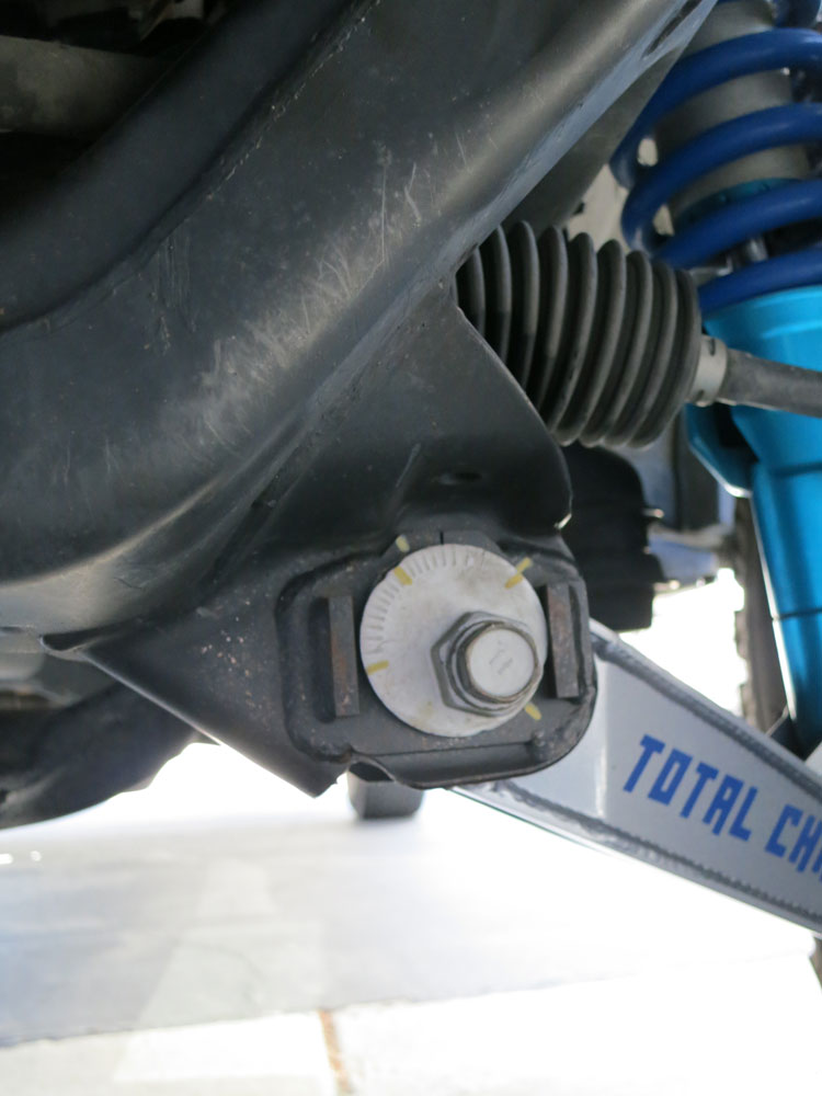 Toyota Pickup Parts >> Total Chaos 2005-15 Tacoma Lower Control Arm Cam Tab ...