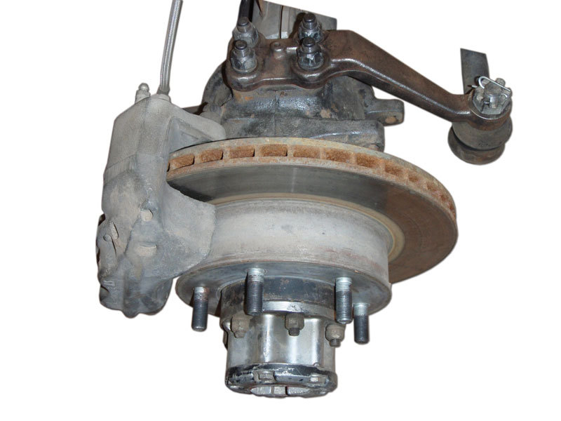 Front Disc Brake Conversion Solid Axle To Tacoma Brakes