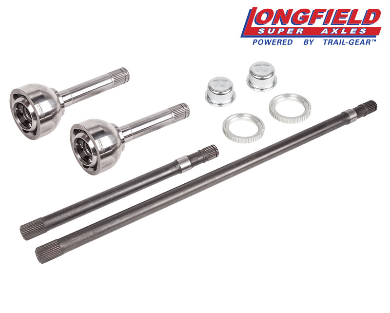 longfield u2122 fj80 24-spline birfield  axle kit