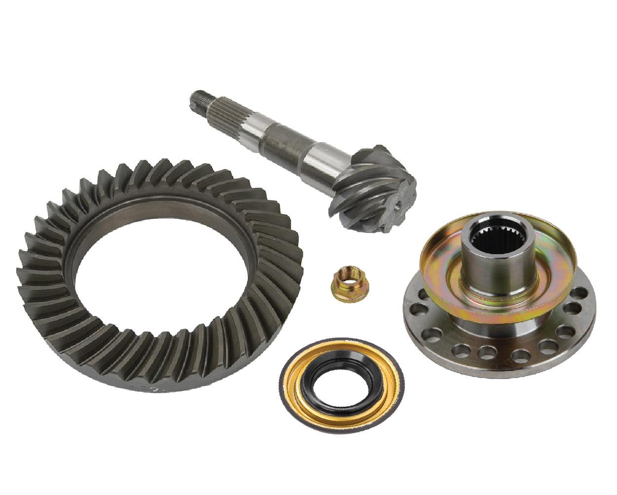Gear Box Pinion : Trail creeper™ spline ring pinion gears w flange kit