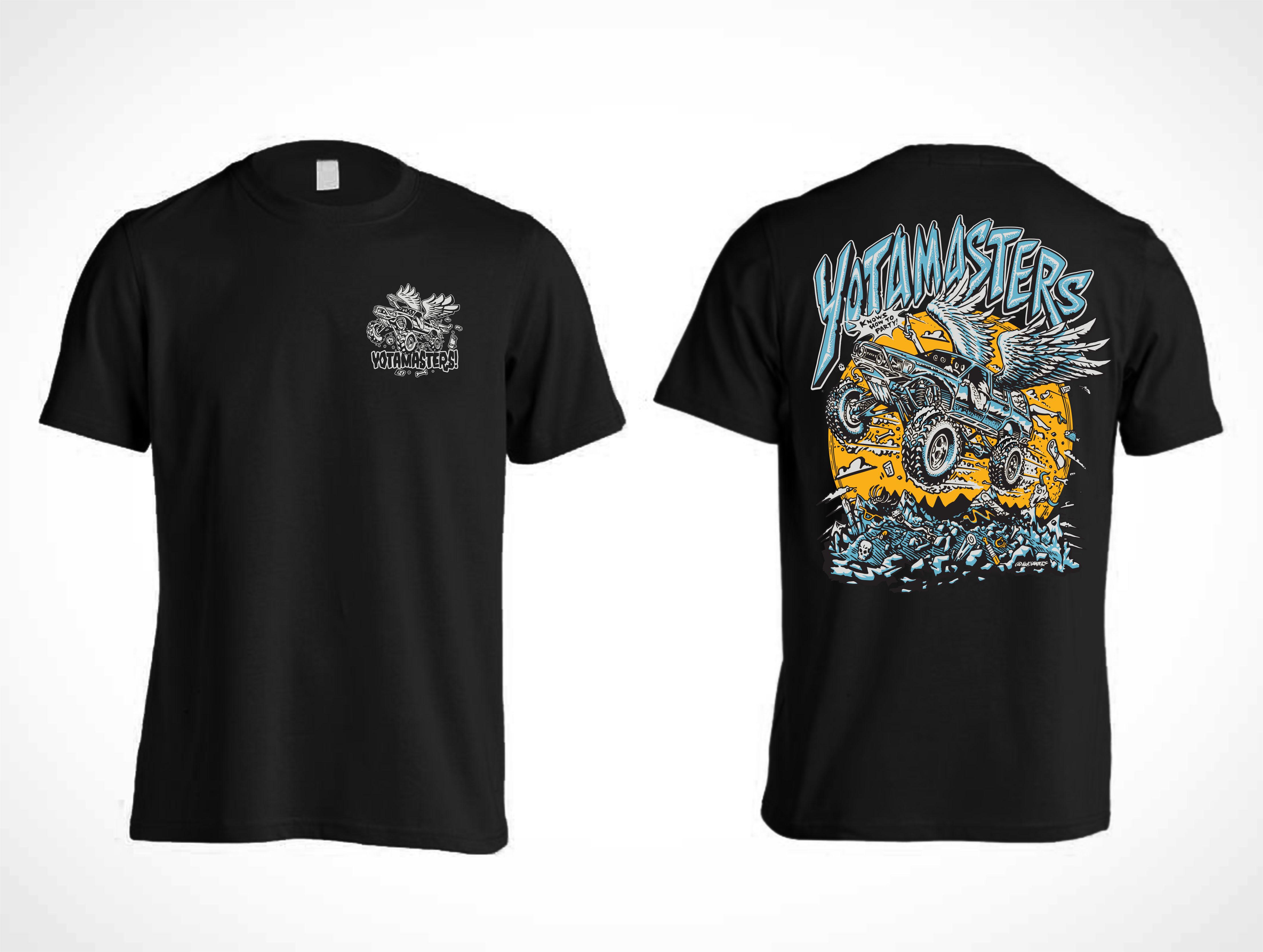 "Yotamasters ""Flying 4Runner"" T-Shirt"