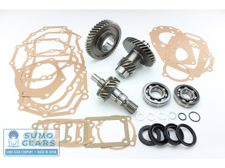 4 7:1 Toyota Transfer Case Reduction Gear Kit by Sumo Gear Company – 21 and  23 Spline